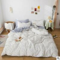 3D Small Flower Texture On White KEP3064 Bed Pillowcases Quilt Duvet Cover Kay