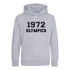 1972 Olympics Hoodie / T Shirt -World Book Day Miss Trunchbull Fancy Costume