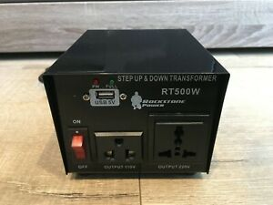 Rockstone Power step up and down transformer 500W
