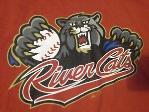Sacramento River Cats Minor League Baseball MiLB Majestic 2X Shirt Robinson