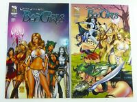 Zenescope GFT: BAD GIRLS (2012) #1A + #5B VARIANT Lot NM (9.4) Ships FREE!