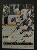1992-93 Upper Deck Gordie Howe Selects G7 Brett Hull St. Louis Blues Hockey Card
