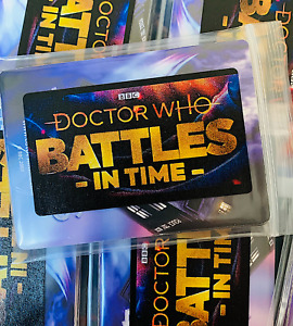 Dr Doctor Who Battles in Time 20 Card Pack - 2x GUARANTEED Rare Ext - Devastator