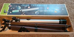 Jason (325) SpaceMaster Astronomical Telescope Made in Japan Vintage 155 Power