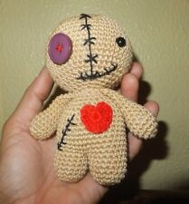 Voodoo doll, crochet handmade, 1 pc