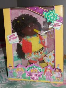 Cabbage Patch MIB BIRTHDAY KIDS A/A GIRL RARE REDUCED