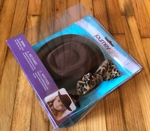 """Journey Girls Fashion Pack Western Hat & Spotted Scarf for 18"""" Doll - Toys R Us"""