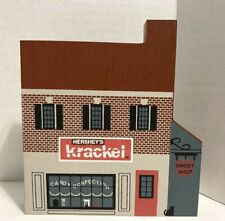 1992 Cats Meow Herseys Corp. Krackle Sweet Shop Advertising Folk Art Signed