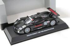 1:43 Kyosho Nissan R390 GT1 1997 24h Le Mans #21 black