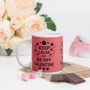keep calm and be my valentine, Mug