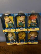 "New Lot Of 6 Nickelodeon's Rugrats Collectible 4"" Doll Figures Mattel 1997"