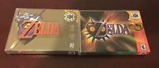 Legend of Zelda: Ocarina of Time & Majora's Mask Empty Replacement Case