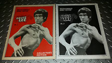 NOSTALGIA WORLD Comics Legend of BRUCE LEE Issues #1 and #2 **New Condition!**