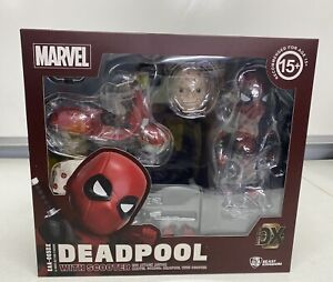 Marvel DEADPOOL with Scooter EAA-065 DX Action Figure Beast Kingdom