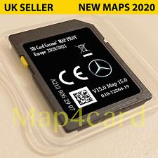 Mercedes V15 tarjeta sd mapa Touchpad Nav C E X Glc Clase Europa Reino Unido 2020 - 2021