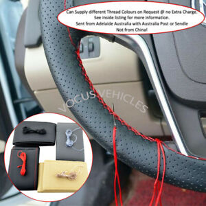 BMW Series 4, 5, 6, 7 & 8 All Models - Bicast Leather Steering Wheel Cover