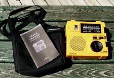 L.L. Bean FR-200 Eton Hand Crank Emergency AM FM SW World Receiver Radio