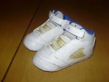 2006 NIKE AIR JORDAN V MILITARY SOFT BOTTOM CRIB BABY TODDLER SHOES 4C