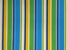 RICHLOOM COVERT BLUEBERRY STRIPE OUTDOOR FURNITURE MULTIUSE FABRIC BY THE YARD