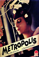 ART AD Metropolis film movie DECO Poster Print
