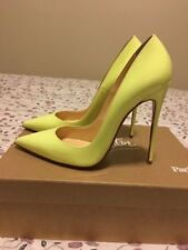 Christian Louboutin So Kate neon pumps size 38.5 in mint condition