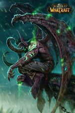 POSTER WORLD OF WARCRAFT WOW FROSTMOURNE LICH KING ILLIDAN VIDEOGAME FANTASY #2