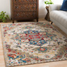 Traditional Oriental Medallion Area Rug **FREE SHIPPING**
