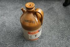 DOMESTOS EARTHENWARE JUG with original stopper