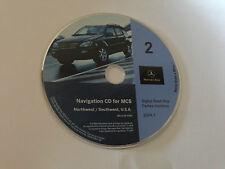2000 2001 2002 Mercedes ML320 ML430 ML500 ML55 Navigation CD # 2 North/Southwest