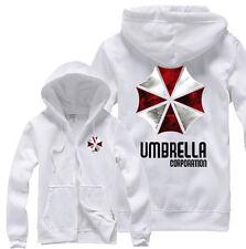 Unisex Hot Resident Evil Umbrella Corporation Hoodie Cosplay Coat Jacket Gift