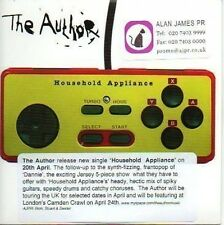 (770C) The Author, Household Appliance - DJ CD