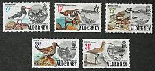 Timbres AURIGNY - Stamp ALDERNEY - Yvert et Tellier n°13 à 17 n** (cyn3)