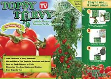TOPSY TURVY Upside Down Tomato Planter Organic Watering System USA Seller