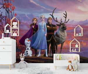 Frozen wallpaper murals Disney photo wallpapers Elsa children's bedroom decor