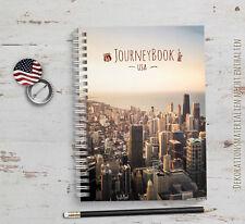 Reisetagebuch USA / Amerika - zum selberschreiben oder als Abschiedsgeschenk