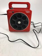 Vintage Red Super 8 Soundesign Model 4012B 8Track Player Rare Retro W/AC Adapter
