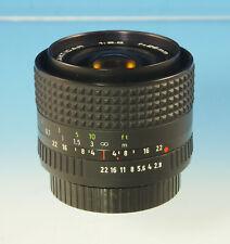 MC Pentacon Prakticar Objektiv lens 2.8/28mm für Praktica-B - (30462)