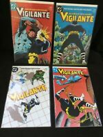 Vigilante Comic Lot DC 4 Issues VF to NM Free Shipping