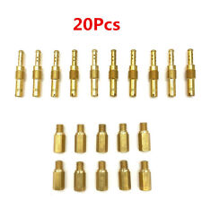 20Pcs Motorcycle Carburetor Main Jets W/ Slow Pilot Jets Injector Nozzle For PWK