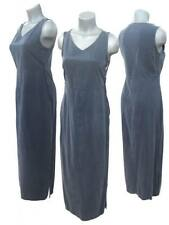 LONG DRESS MARKS AND SPENCER M&S BLUE COTTON DENIM TYPE DRESS BRAND NEW BARGAIN