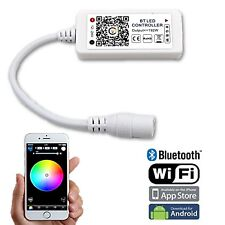 Bluetooth Cell Phone iOS Android RGBW LED Color Changing Light Remote Controller