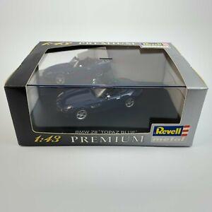 Revell Metal Premium 1:43 28246 BMW Z8 convertible Topaz Blue