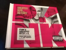 PINK - GREATEST HITS SO FAR - CD AND DVD SET - P!NK - SO WHAT / THERE YOU GO +