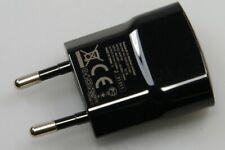 ORIGINAL EU USB CHARGER HEAD by BLACKBERRY UNIVERSAL USE HDW-29713-002 Black NEW