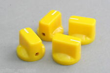 Knobs Amarillo 19x15 mm. Fit 6.35 Potes Effect Pedal Poti Knöpfe Boutons Yellow
