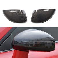 Carbon Fiber Replacement  Rearview Mirror Covers Fit for Audi TT 8J TTS 08-14