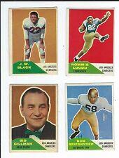 Los Angeles Chargers LA 1960 Fleer football Jack Kemp 15-card set complete NICE