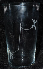 SANCTUARIES EDGE ROCK CLIMBING CLIMB ETCHED PINT GLASS FATHER DAD GIFT PRESENT