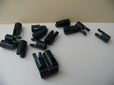 Lego 15 charnieres rondes noires set 4101 7663 4958 7774 / 15 black round hinge