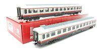 RIVAROSSI  HR4283 - FS set due carrozze tipo UIC-Z rinnovate Frecciabianca 2a cl